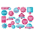 Set of Sale and Best Choice Badges vector image