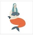 mermaid Dodo collection vector image