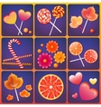 with sweets vector image