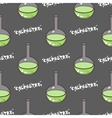 Test-tubes Seamless Pattern Green vector image