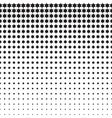 Stars Halftone Pattern vector image