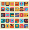 Set of buttons for design vector image vector image