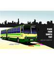 al 1032 bus 02 vector image vector image