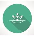 Football League icon vector image