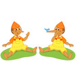 pinocchio the liar puppet vector image