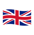 United Kingdom of Great Britain vector image