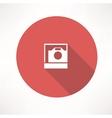 Polaroid icon vector image vector image