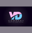 vd alphabet letter join joined letter logo design vector image