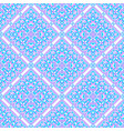 seamless pattern from abstract elements vector image
