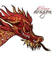 Hand Drawn Dragon vector image