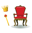 King Equipment vector image