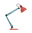 office lamp flat icon vector image