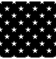Stars seamless pattern small white vector image
