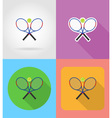 sport flat icons 05 vector image vector image
