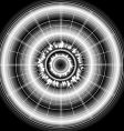 digital star vector image