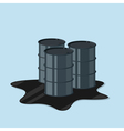 oil canister vector image