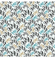 seashell seamless pattern fashion texture vector image