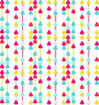 Seamless Arrow Background Patterntriangle pattern vector image