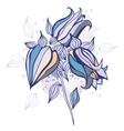 Beautiful flower Hand drawn vector image
