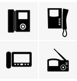 Video intercoms vector image vector image