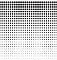 Circles Halftone Pattern vector image
