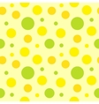polka dot fabric vector image