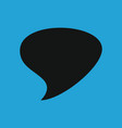 retro converse speech bubble icon vector image
