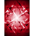 Red technical background vector image vector image