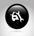 car button design vector image