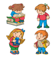 Children vector image vector image