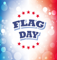 flag day america banner 2 vector image