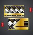 Business card design creative vector image vector image