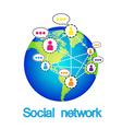 Social networking conceptual Can represent vector image