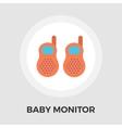 Baby monitor Flat Icon vector image