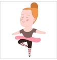 Ballet dancer Dodo people collection vector image