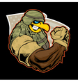 Cadet vector image