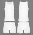 mens underwear white vector image