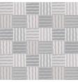 monochrom mosaic patchwork seamless pattern vector image