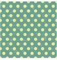 seamless retro dot pattern background vector image