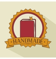 book seal stamp frame icon vector image