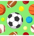 Ball background 2 vector image