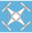 Quadcopter vector image vector image