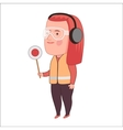 Aircraft Marshalling Dodo people collection vector image vector image