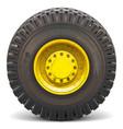 Old Wheel vector image