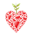 love apple vector image