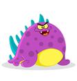 evil monster vector image