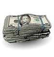 Money Bundle Five vector image