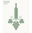 Wine Vintage vector image vector image