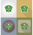 sport flat icons 72 vector image vector image