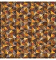 brown abstract geometric background pattern vector image